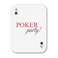 Poker Party Invitations